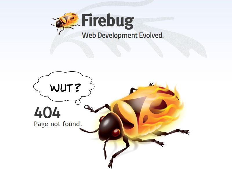 getfirebug error page