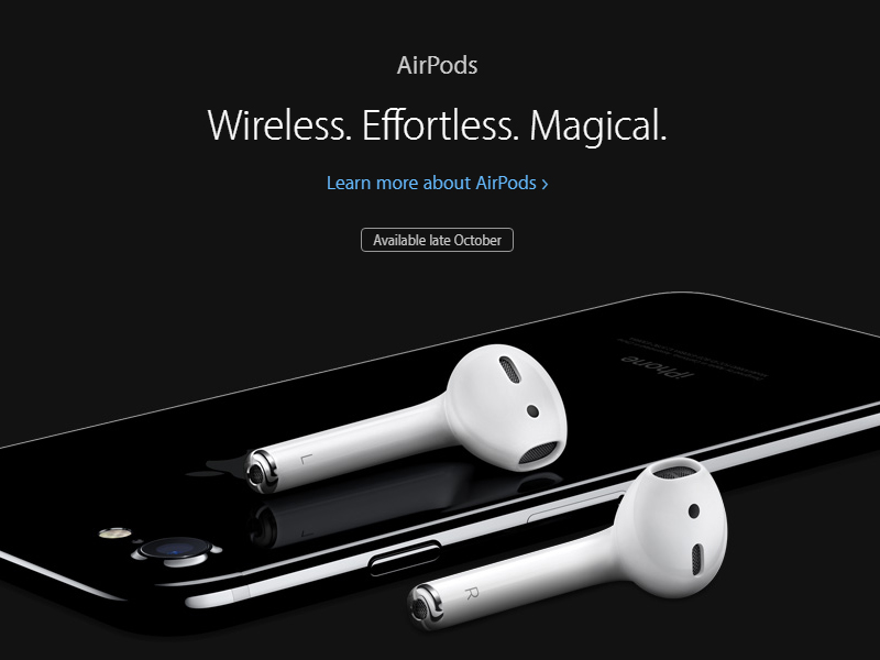 airpods iphone7