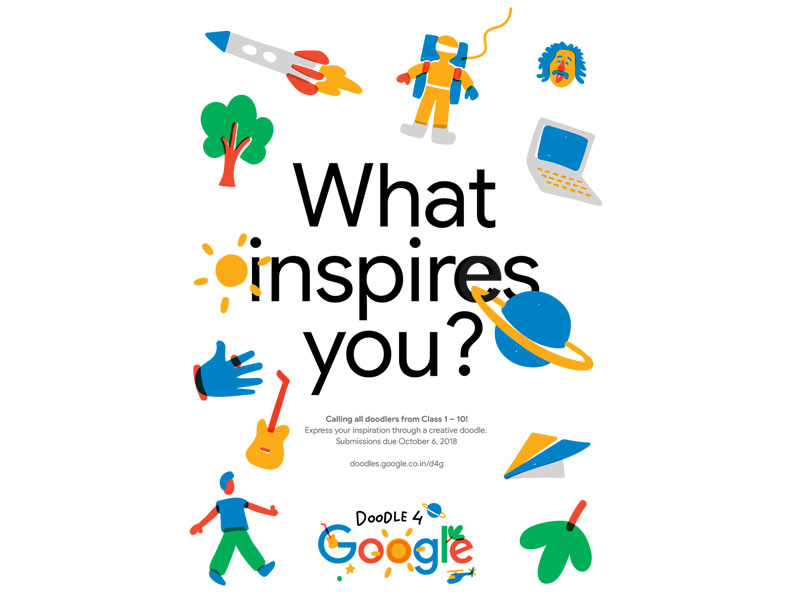 Doodle 4 Google India Contest 2018 Easy User Experience
