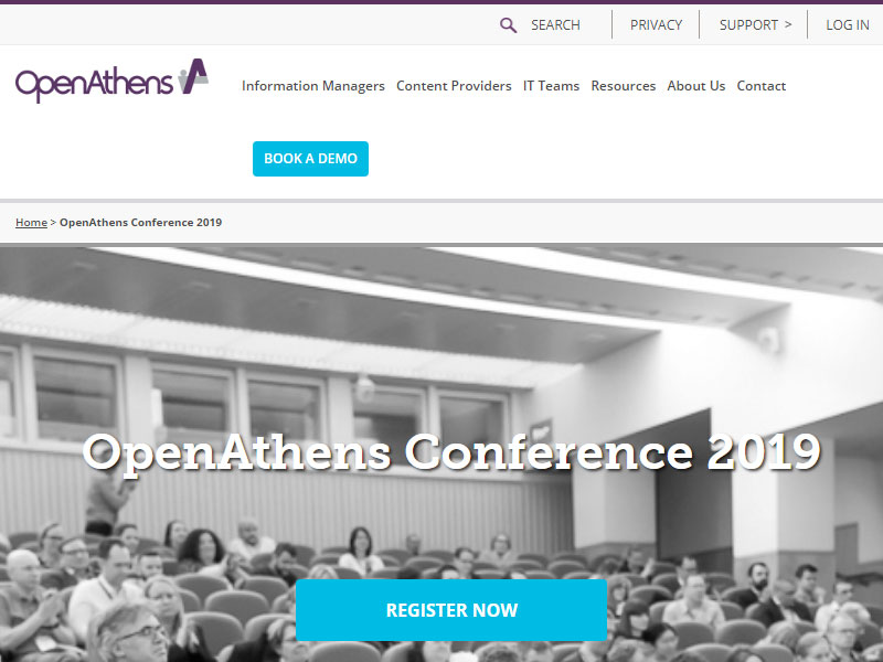 OpenAthens Conference, March 19, 2019