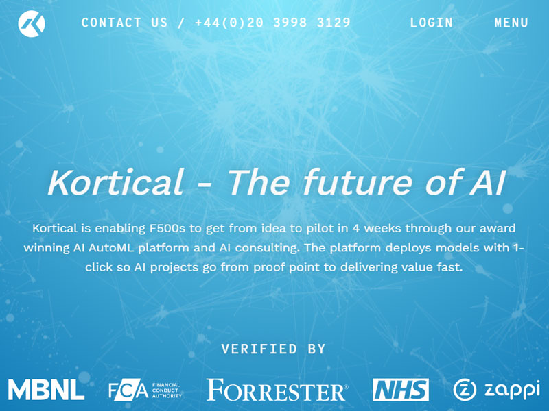 kortical - Artificial Intelligence Firms in UK