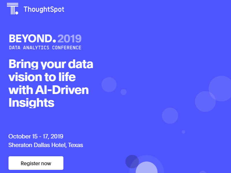 Thoughtspot Artificial Intelligence Firms in UK